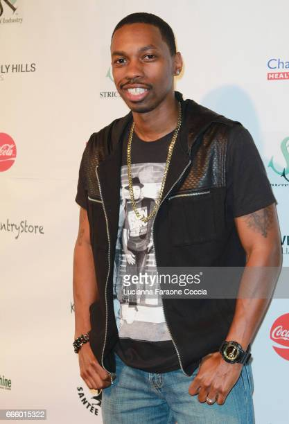 Actor Melvin Jackson Jr attends the Santee High School Fashion Show at Los Angeles Trade Technical College on April 7 2017 in Los Angeles California