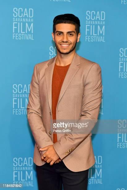 Actor Mena Massoud attends 22nd SCAD Savannah Film Festival at Trustees Theater on October 30, 2019 in Savannah, Georgia.