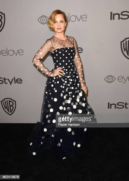 Actor Mena Suvari attends 19th Annual PostGolden Globes Party hosted by Warner Bros Pictures and InStyle at The Beverly Hilton Hotel on January 7...