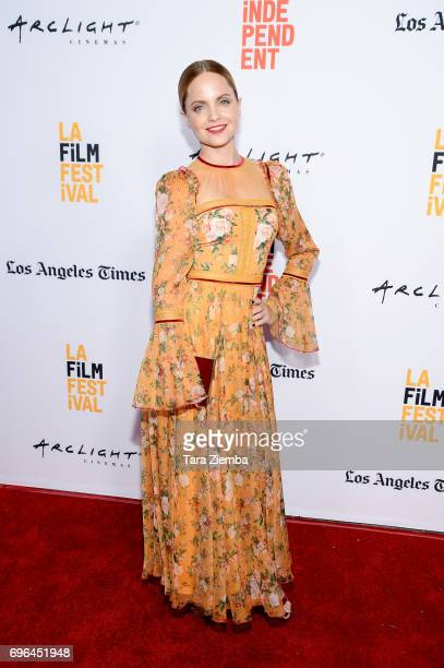Actor Mena Suvari attends the screenings of 'Becks' and 'Swim' during the 2017 Los Angeles Film Festival at Arclight Cinemas Culver City on June 15...