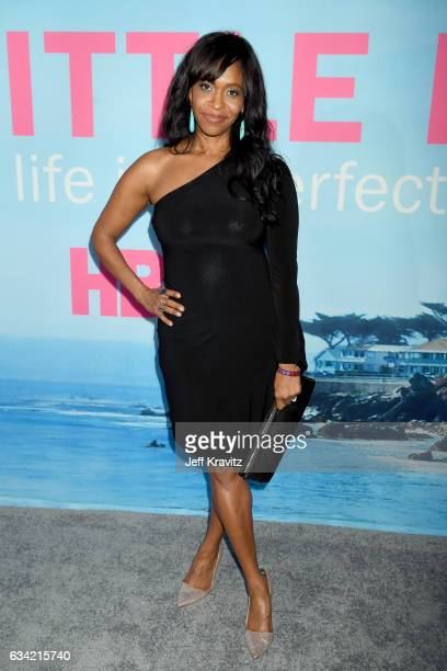 Actor Merrin Dungey attends the premiere of HBO's 'Big Little Lies' at the TCL Chinese Theater on February 7 2017 in Hollywood California