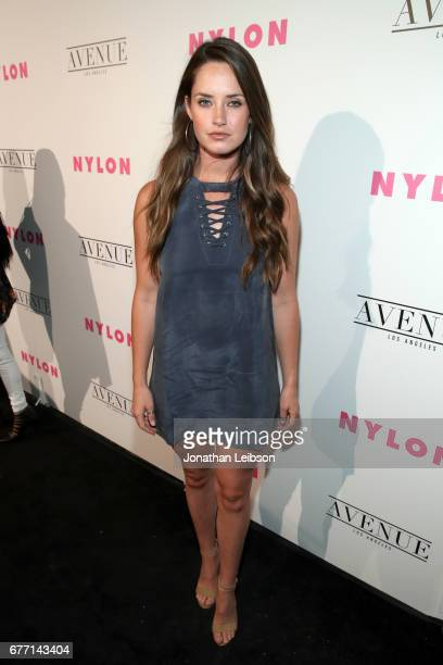 Actor Merritt Patterson at the NYLON Young Hollywood Party at AVENUE Los Angeles on May 2 2017 in Los Angeles California
