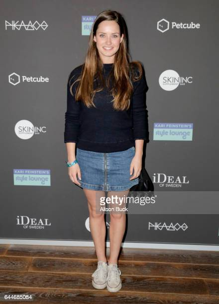 Actor Merritt Patterson attends Kari Feinstein's PreOscar Style Lounge at the Andaz Hotel on February 23 2017 in Los Angeles California