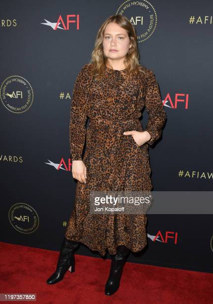 Actor Merritt Wever attends the 20th Annual AFI Awards at Four Seasons Hotel Los Angeles at Beverly Hills on January 03 2020 in Los Angeles California