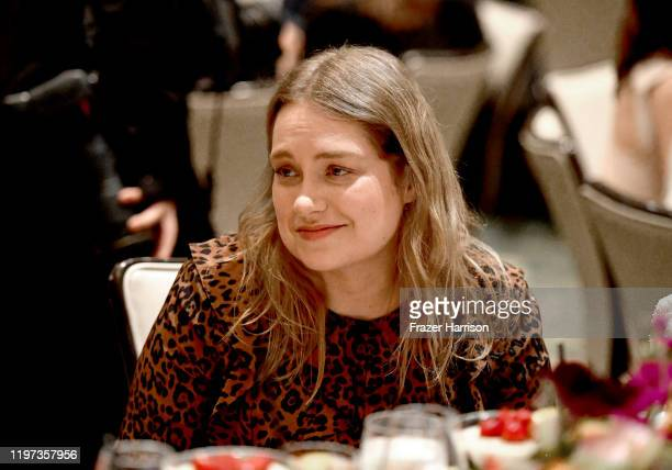 Actor Merritt Wever attends the 20th Annual AFI Awards at Four Seasons Hotel Los Angeles at Beverly Hills on January 03, 2020 in Los Angeles,...