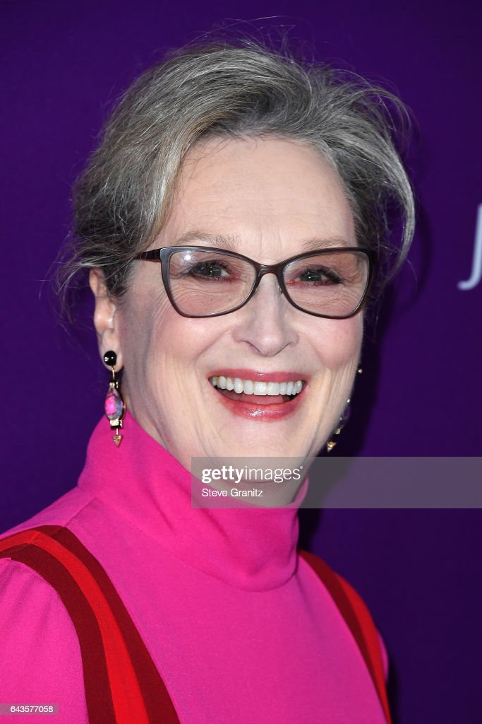 Actor Meryl Streep attends The 19th CDGA (Costume Designers Guild Awards) with Presenting Sponsor LACOSTE at The Beverly Hilton Hotel on February 21, 2017 in Beverly Hills, California.