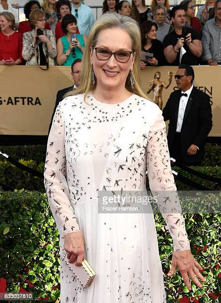 Actor Meryl Streep attends The 23rd Annual Screen Actors Guild Awards at The Shrine Auditorium on January 29 2017 in Los Angeles California 26592_008
