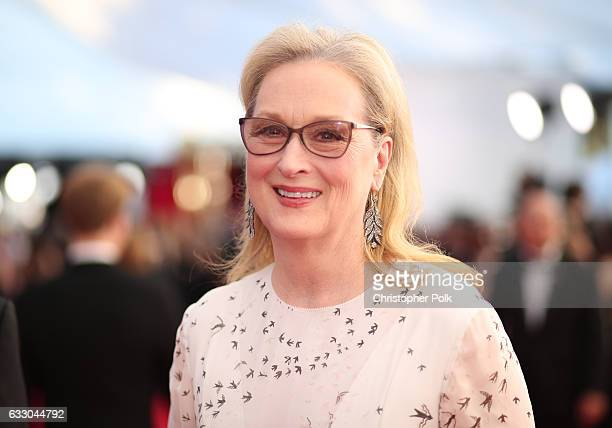 Actor Meryl Streep attends The 23rd Annual Screen Actors Guild Awards at The Shrine Auditorium on January 29 2017 in Los Angeles California 26592_012