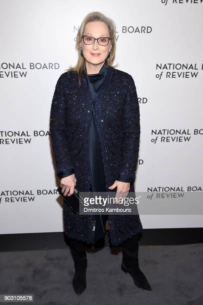 Actor Meryl Streep attends the National Board of Review Annual Awards Gala at Cipriani 42nd Street on January 9 2018 in New York City