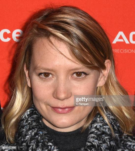 Actor Mia Wasikowska attends the premiere of 'Damsel' during the 2018 Sundance Film Festival at Eccles Theatre on January 23 2018 in Park City Utah