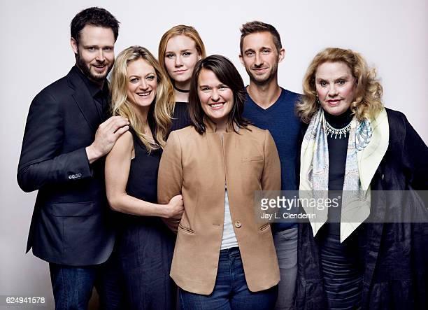 Actor Michael Abott Jr actress Marin Ireland actress Madisen Beaty writer/director Rachel Lambert writer Nathan Gregorski and actress Celia Weston...