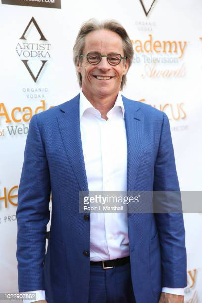 Actor Michael Anderson attends the 6th International Academy of Web Television Awards at Skirball Cultural Center on August 24 2018 in Los Angeles...
