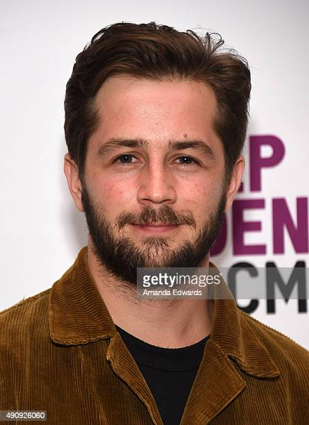 Actor Michael Angarano attends the Film Independent at LACMA Screening and QA of The Knick at the Bing Theatre at LACMA on October 1 2015 in Los...