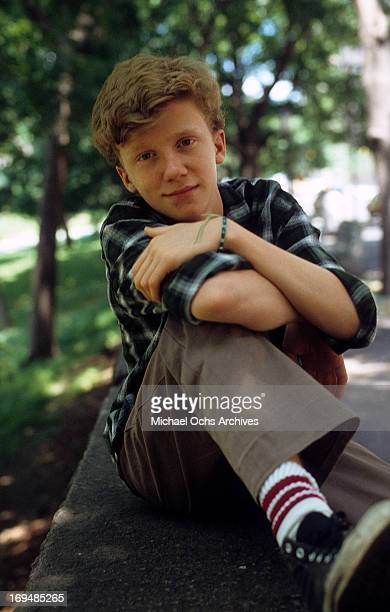 Actor Michael Anthony Hall poses for a portrait in circa 1984