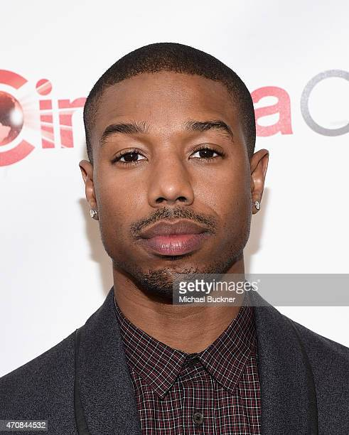 Actor Michael B Jordan attends 20th Century Fox Invites You to a Special Presentation Highlighting Its Future Release Schedule at The Colosseum at...