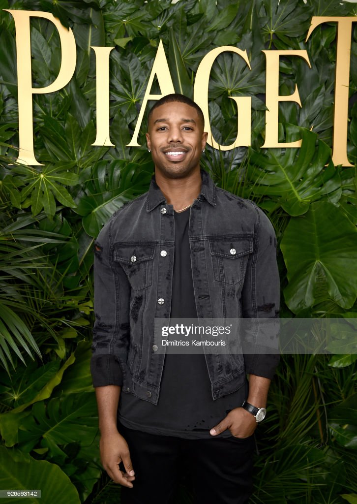 Actor Michael B. Jordan attends Piaget Celebrates Independent Film with The Art of Elysium at Chateau Marmont on March 2, 2018 in Los Angeles, California.