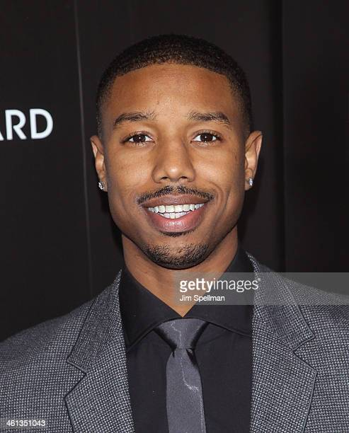 Actor Michael B Jordan attends the 2014 National Board Of Review Awards Gala at Cipriani 42nd Street on January 7 2014 in New York City
