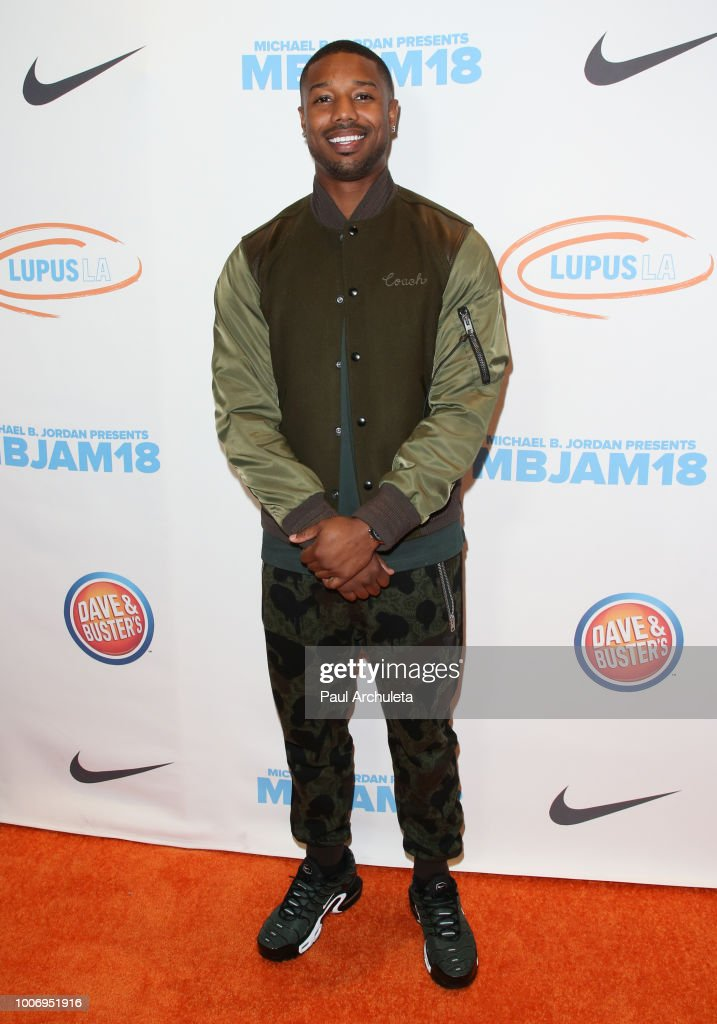 Actor Michael B. Jordan attends the 2nd annual MBJAM18 presented by Michael B. Jordan and Lupus LA at Dave & Buster's on July 28, 2018 in Los Angeles, California.