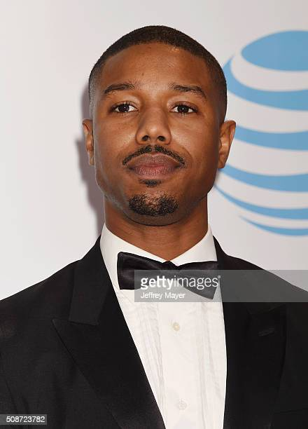 Actor Michael B Jordan attends the 47th NAACP Image Awards at the Pasadena Civic Auditorium on February 5 2016 in Pasadena California