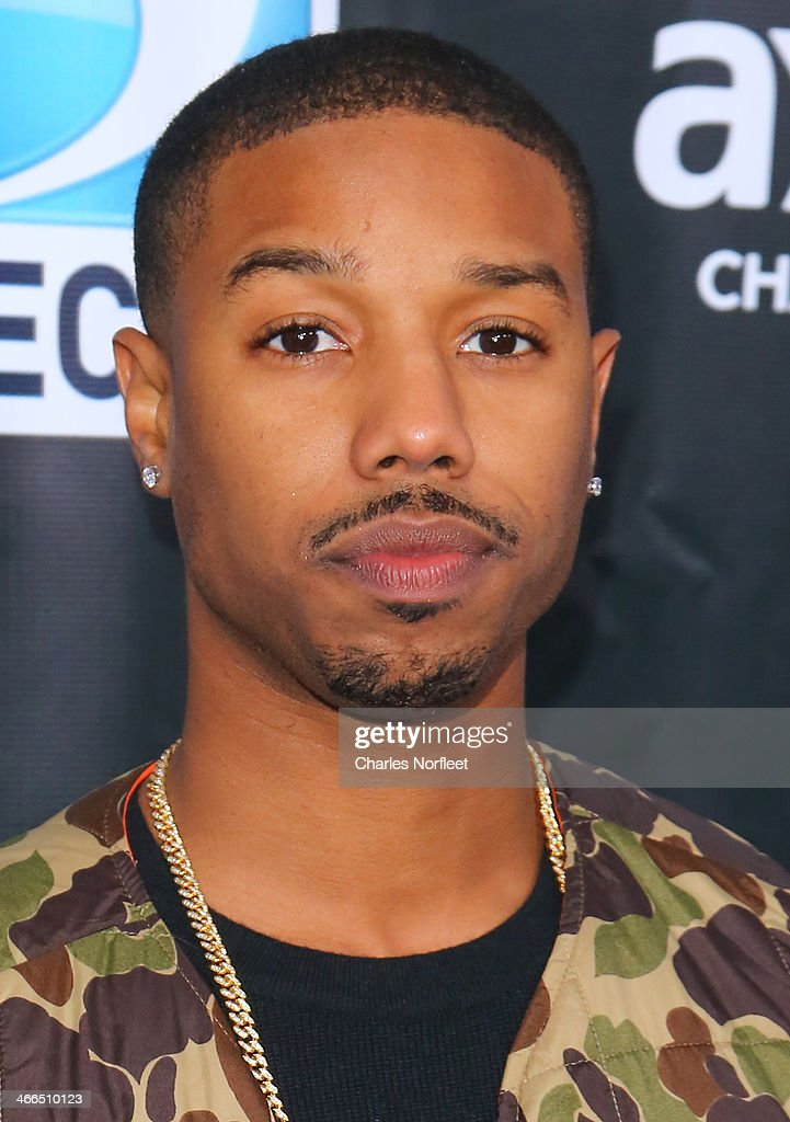 Actor Michael B. Jordan attends the DirecTV Super Saturday Night at Pier 40 on February 1, 2014 in New York City.
