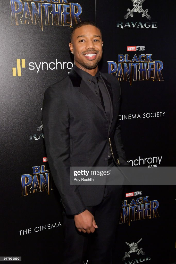 "The Cinema Society Hosts A Screening Of Marvel Studios' ""Black Panther"""