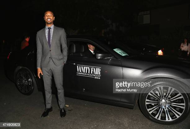Actor Michael B Jordan attends Vanity Fair and FIAT celebration of Young Hollywood during Vanity Fair Campaign Hollywood at No Vacancy on February 25...