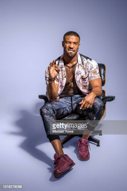 Actor Michael B Jordan is photographed for Essence Magazine on March 24 2018 in Philadelphia Pennsylvania PUBLISHED IMAGE