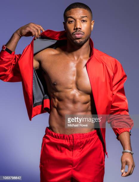 Actor Michael B Jordan is photographed for Essence Magazine on March 24 2018 in Philadelphia Pennsylvania