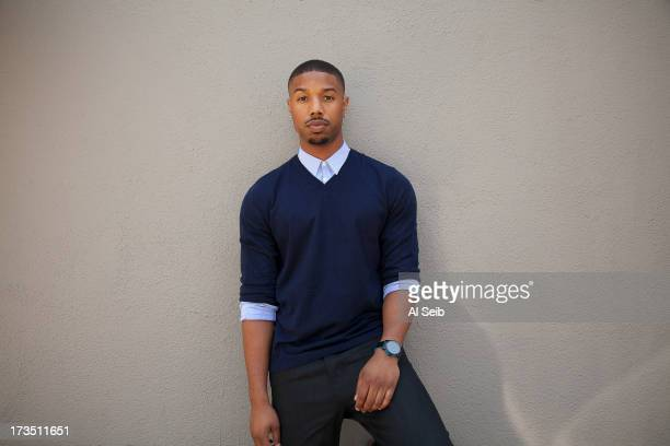 Actor Michael B Jordan is photographed for Los Angeles Times on July 11 2013 in Los Angeles California PUBLISHED IMAGECREDIT MUST READ Al Seib/Los...