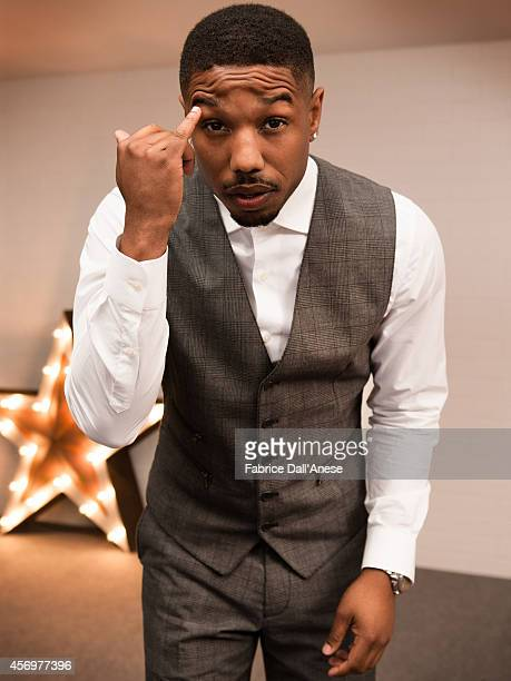 Actor Michael B Jordan is photographed for Vanity Fair Italy in Cannes France