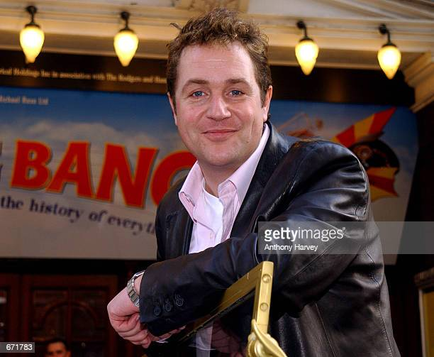 Actor Michael Ball poses during a photocall to promote his new stage musical ''Chitty Chitty Bang Bang'' November 15 2001 at the Palladium Theatre in...