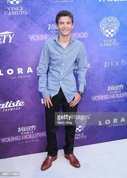 Actor Michael Barbieri attends Variety's Power of Young Hollywood event presented by Pixhug with platinum sponsor Vince Camuto at NeueHouse Hollywood...
