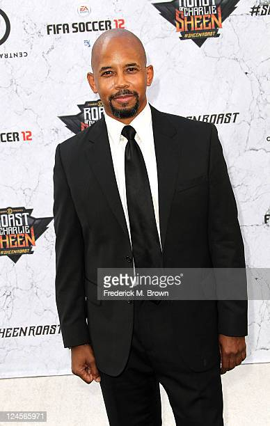 Actor Michael Boatman arrives at Comedy Central's Roast of Charlie Sheen held at Sony Studios on September 10 2011 in Los Angeles California