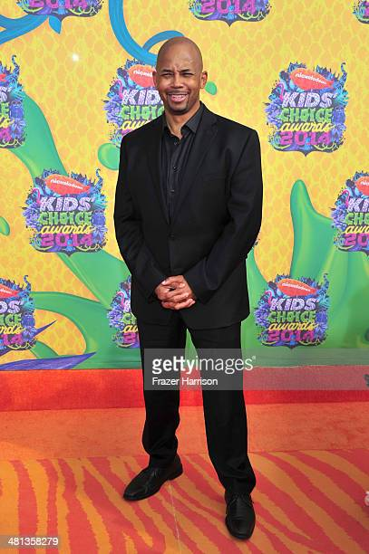 Actor Michael Boatman attends Nickelodeon's 27th Annual Kids' Choice Awards held at USC Galen Center on March 29 2014 in Los Angeles California