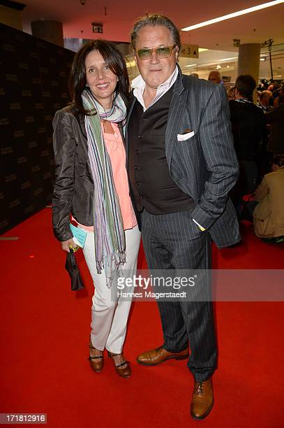 Actor Michael Brandner and his wife Karin attend the Munich Film Festival 2013 Opening at the Hotel Bayerischer Hof on June 28 2013 in Munich Germany