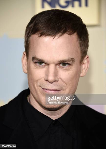 Actor Michael C Hall arrives at New Line Cinema and Warner Bros Pictures' 'Game Night' Premiere at the TCL Chinese Theatre on February 21 2018 in...