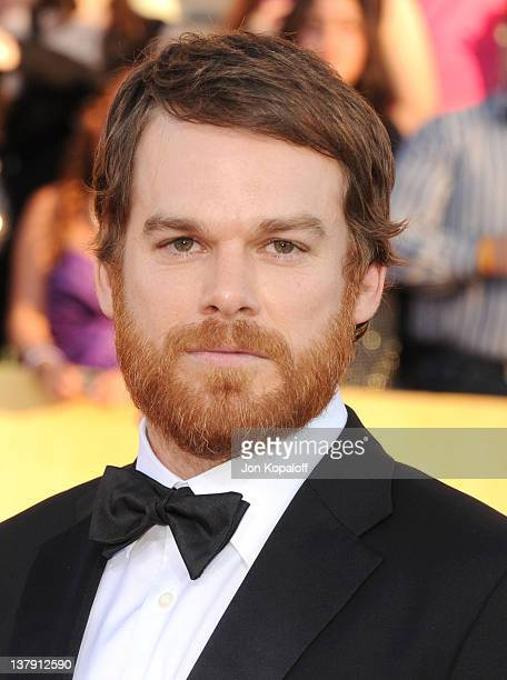 Actor Michael C Hall arrives at the 18th Annual Screen Actors Guild Awards held at The Shrine Auditorium on January 29 2012 in Los Angeles California