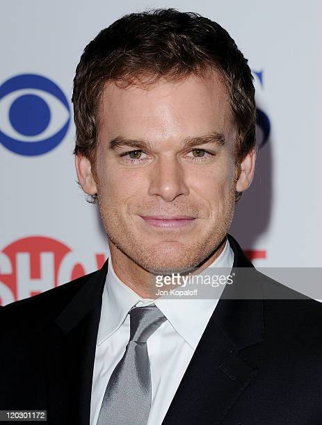 Actor Michael C. Hall arrives at the 2011 TCA Summer Press Tour - CBS, The CW, Showtime at The Pagoda on August 3, 2011 in Beverly Hills, California.