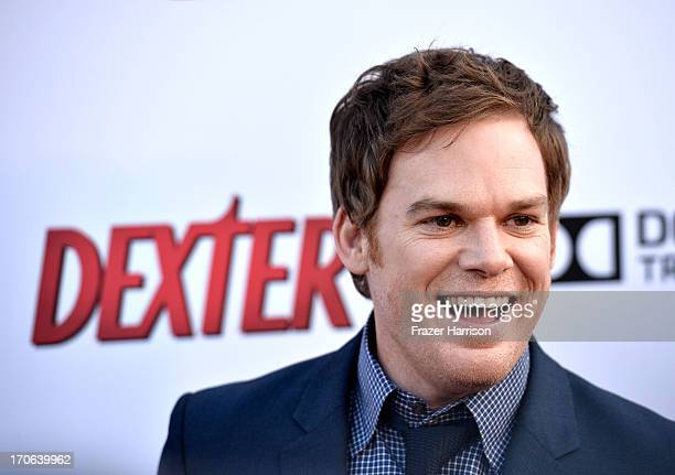 Actor Michael C Hall arrives at the Showtime Celebrates 8 Seasons Of Dexter at Milk Studios on June 15 2013 in Hollywood California