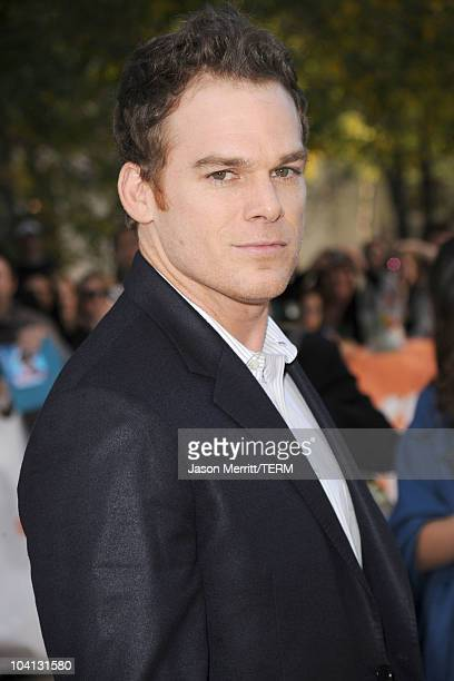 Actor Michael C Hall attends 'Peep World' Premiere during the 35th Toronto International Film Festival at Roy Thomson Hall on September 15 2010 in...