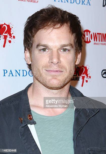 Actor Michael C Hall attends Showtime's 'Dexter' Red Carpet Photo Op during ComicCon International 2012 held at the Omni Hotel on July 12 2012 in San...