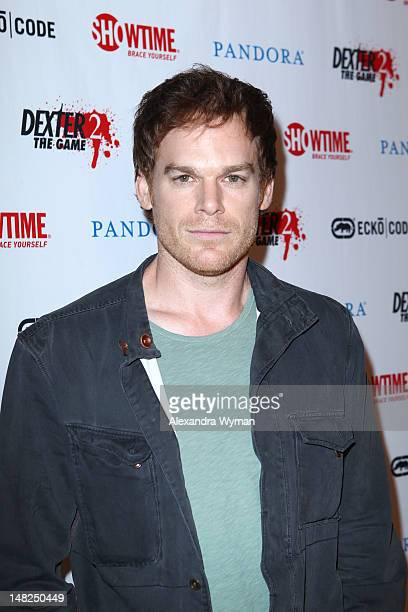 """Actor Michael C. Hall attends Showtime's """"Dexter"""" Red Carpet Photo Op during Comic-Con International 2012 held at the Omni Hotel on July 12, 2012 in..."""