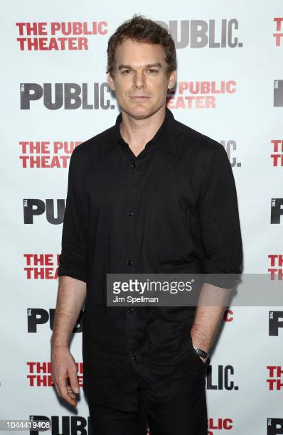 Actor Michael C Hall attends the Girl From The North Country opening night at The Public Theater on October 1 2018 in New York City