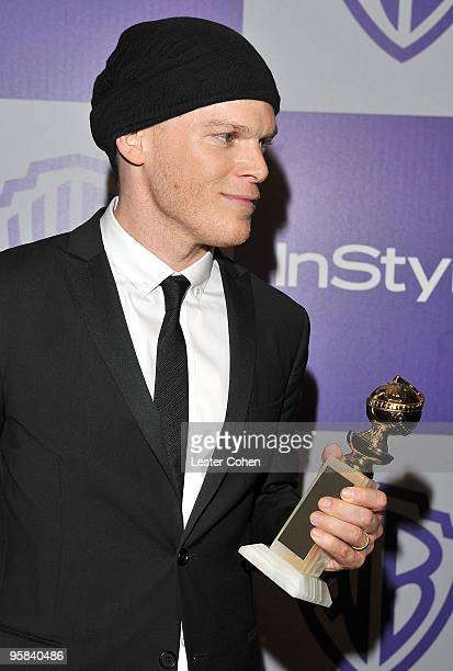 Actor Michael C Hall attends the InStyle and Warner Bros 67th Annual Golden Globes post party held at the Oasis Courtyard at The Beverly Hilton Hotel...