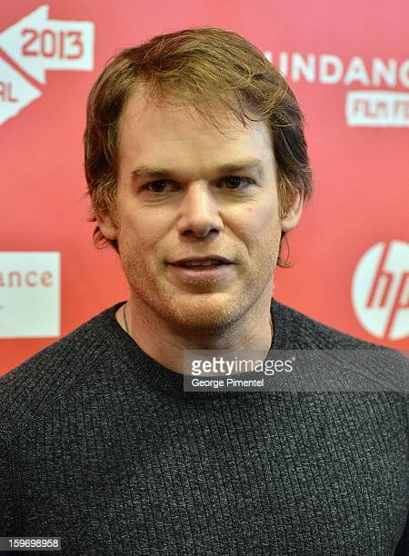 Actor Michael C Hall attends the Kill Your Darlings Premiere during the 2013 Sundance Film Festival at Eccles Center Theatre on January 18 2013 in...