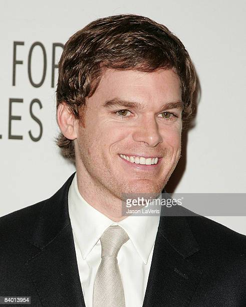 Actor Michael C Hall attends the Paley Center for Media's annual LA gala honoring Showtime Networks at the Hyatt Century Plaza Hotel on December 11...