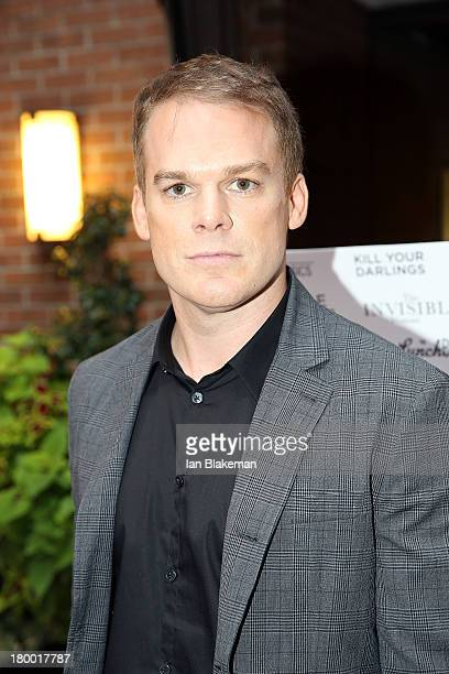 Actor Michael C. Hall attends the Sony Pictures Classics' Cast Dinner during the 2013 Toronto International Film Festival held at Creme Brasserie on...