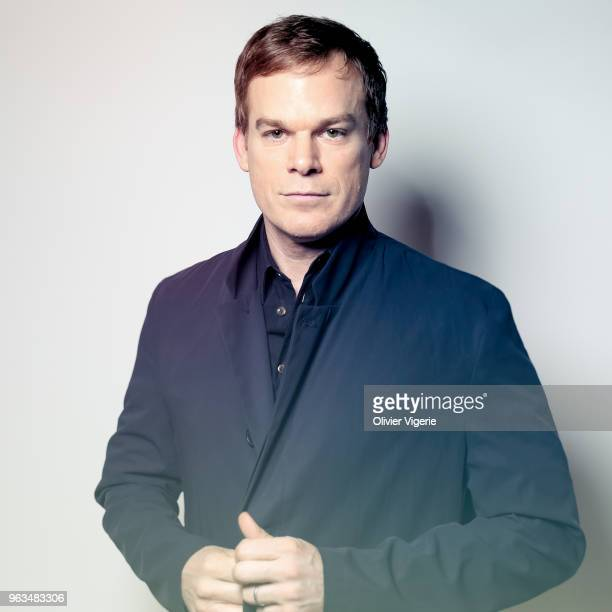 Actor Michael C Hall is photographed for Self Assignment on April 2018 in Cannes France