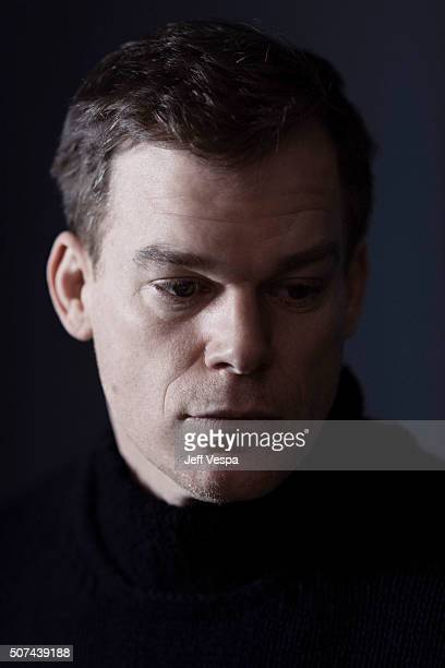 Actor Michael C Hall of 'Christine' poses for a portrait at the 2016 Sundance Film Festival on January 23 2016 in Park City Utah