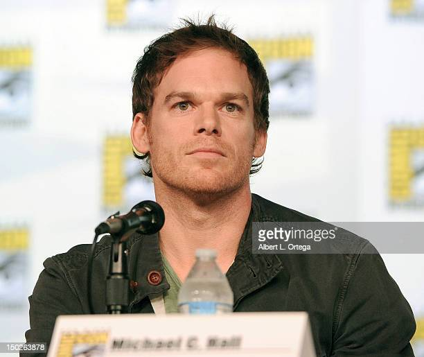 Actor Michael C Hall participates in Showtime's Dexter Panel ComicCon International 2012 held at San Diego Convention Center on July 12 2012 in San...